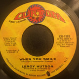 When You Smile - Leroy Hutson