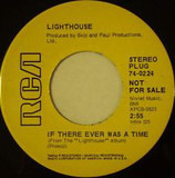 If There Ever Was A Time - Lighthouse