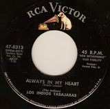 Always In My Heart / Moonlight And Shadows - Los Indios Tabajaras