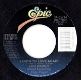 Learn To Love Again - Lou Rawls Featuring Tata Vega