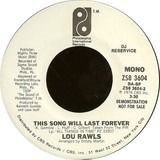 This Song Will Last Forever - Lou Rawls