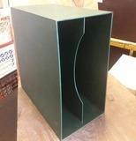 in dunkelgrün, für ca. 40 LPs - LP-Box, 70er Jahre