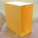 in gelb, für ca. 40 LPs - LP-Box, 70er Jahre