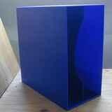 in marineblau, für ca. 40 LPs - LP-Box, 70er Jahre