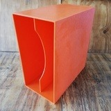 in orange, für ca. 40 LPs - LP-Box, 70er Jahre