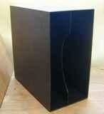 in edlem dunkelbraun, für ca. 40 LPs - LP-Box, 70er Jahre