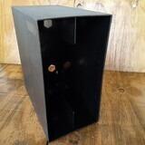 in schwarz, für ca. 40 LPs - LP-Box, 70er Jahre