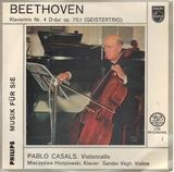 "Klaviertrio Nr. 4 D-dur Op. 70, 1 ""Geister-Trio"" - Ludwig van Beethoven - Pablo Casals ‧ Mieczyslaw Horszowski ‧ Sándor Végh"