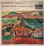 Symphony No. 8 In F, Op. 93 / Symphony No. 4 In A, Op. 90 (Italian) - Ludwig van Beethoven , Felix Mendelssohn-Bartholdy , The Royal Philharmonic Orchestra , Sir Thomas
