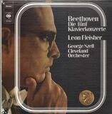die fünf klavierkonzerte - Beethoven (Fleisher, Szell)