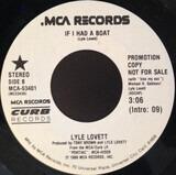 If I Had A Boat - Lyle Lovett