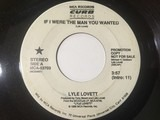 If I Were The Man You Wanted - Lyle Lovett