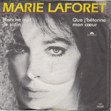 Blanche nuit de satin / Que j' bétonne mon coeur - Marie Laforet