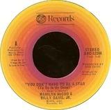 You Don't Have To Be A Star (To Be In My Show) / We've Got To Get It On Again - Marilyn McCoo & Billy Davis Jr.
