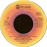 Your Love / My Love For You (Will Always Be The Same) - Marilyn McCoo & Billy Davis Jr.