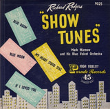 "Richard Rodgers ""Show Tunes"" - Mark Warnow And His Orchestra"