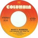 Some Memories Just Won't Die - Marty Robbins
