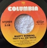 That's All She Wrote / Tie Your Dream To Mine - Marty Robbins