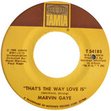 That's The Way Love Is / Gonna Keep On Tryin' Till I Win Your Love - Marvin Gaye