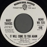 It Will Come To You Again - Mary Travers