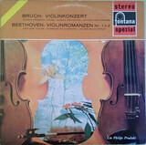 Violinkonzert / Violinromanzen Nr. 1 + 2 - Max Bruch - Herman Krebbers / The Europa Orchestra ; Hein Jordans , Ludwig van Beethoven - Igor Ozi