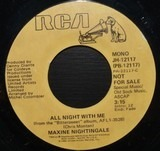 All Night With Me - Maxine Nightingale