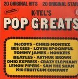 K-Tel's Pop Greats - McCoys, Chris Montez, Bee Gees a.o