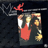 Baby Don't Forget My Number (Subway Mix) - Milli Vanilli