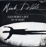 Each Word's A Beat Of My Heart /  River Of Tears - Mink DeVille