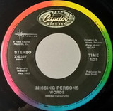 Words / Walking In L.A. - Missing Persons