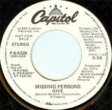 Give - Missing Persons