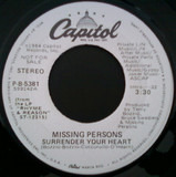 Surrender Your Heart - Missing Persons
