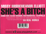 She's A Bitch - Missy 'Misdemeanor' Elliott, Missy Elliott