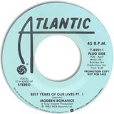 Best Years Of Our Lives - Modern Romance