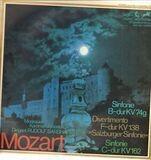 Sinfonie Nr.54 B-dur KV 74g* Divertimento F-dur KV 138* Sinfonie Nr.22 C-dur KV 162 - Mozart/ R. Barshai, Moskauer Kammerorchester
