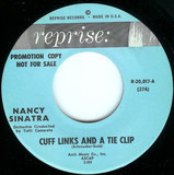 Cuff Links And A Tie Clip / Not Just Your Friend - Nancy Sinatra
