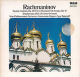 Rachmaninov - Spring Cantata, Op. 20. Three Russian Folk songs, Op. 41 / Tchaikovsky - 1812 A Festi - New Philharmonia Orchestra Conducted By Igor Buketoff With The Ambrosian Singers