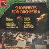 Showpieces For Orchestra - New Philharmonia Orchestra Conducted by Rafael Frühbeck De Burgos