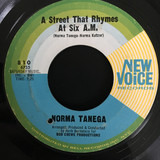 A Street That Rhymes At Six A.M. / Treat Me Right - Norma Tanega
