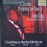 Last Call At The Blue Note - Oscar Peterson Trio