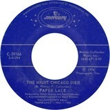 The Night Chicago Died / Billy-Don't Be A Hero - Paper Lace