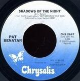 Shadows Of The Night - Pat Benatar