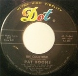 Big Cold Wind / That's My Desire - Pat Boone