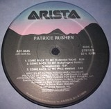 Come Back To Me / Somewhere - Patrice Rushen