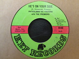 He's On Your Side / Two Hearts - Patrolman Vic Virzera With The Premiers