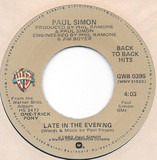 Late In The Evening / One Trick Pony - Paul Simon