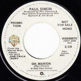 Oh, Marion / God Bless The Absentee - Paul Simon