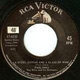 A Steel Guitar And A Glass Of Wine / I Never Knew Your Name - Paul Anka