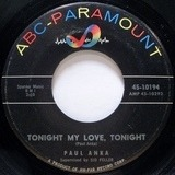 Tonight My Love, Tonight - Paul Anka