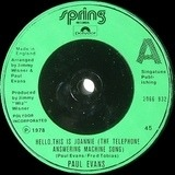 Hello, This Is Joannie (The Telephone Answering Machine Song) - Paul Evans